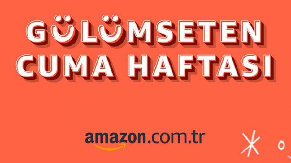 Amazon'da Gülümseten Cuma Haftası'nın en çok satan, en iyi fiyatlı ürünleri